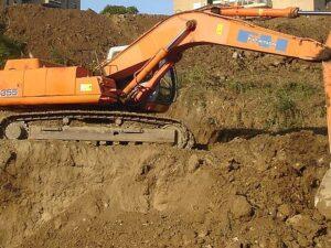 Sbancamento e livellamento terreno: Permesso di Costruire
