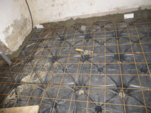 Il vespaio aerato per isolare il pavimento